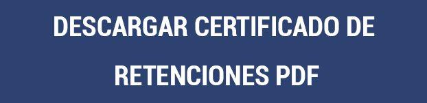 Descargar certificado de Retenciones PDF