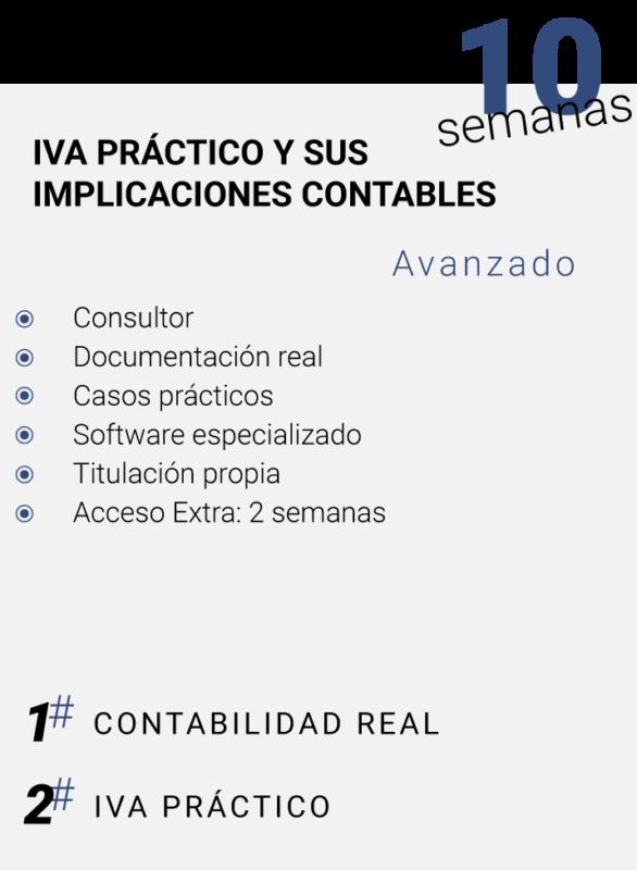 IVA PRACTICO Y SUS IMPLICACIONES CONTABLES