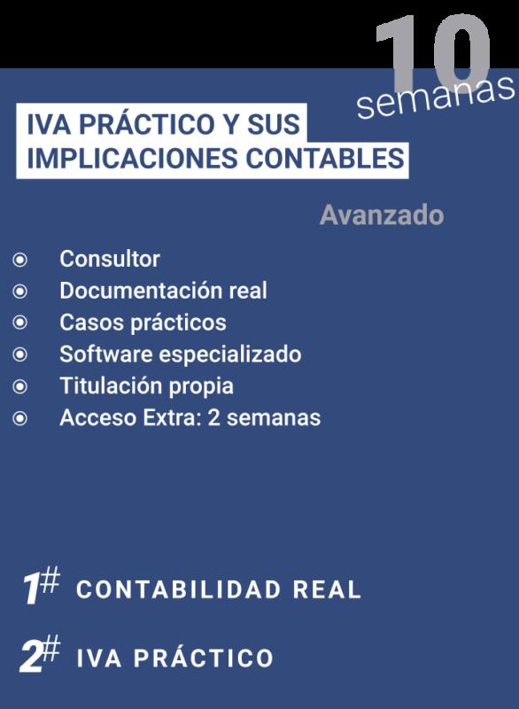 IVA PRACTICO Y SUS IMPLICACIONES CONTABLES SELECCIONADA