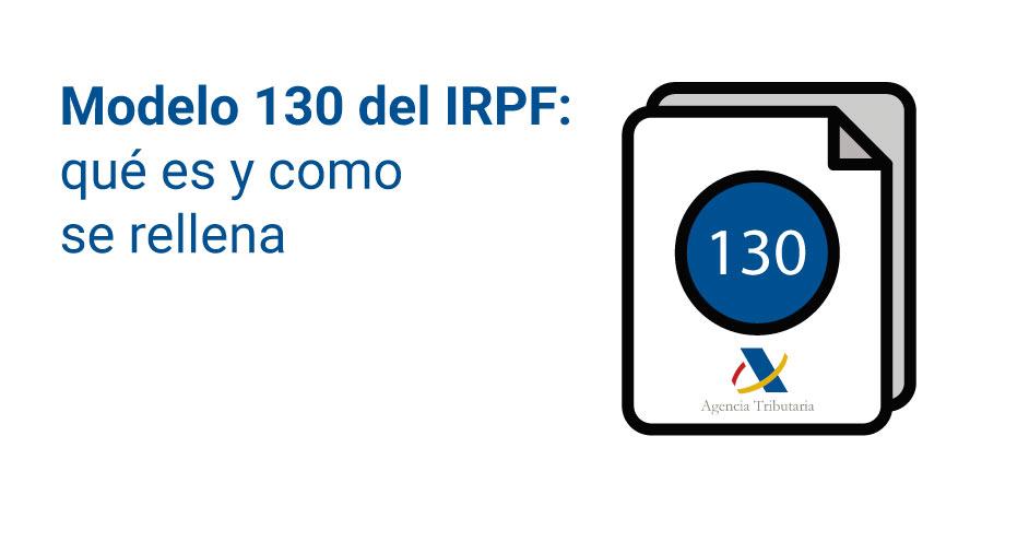que-es-el-modelo-130-irpf-autonomos
