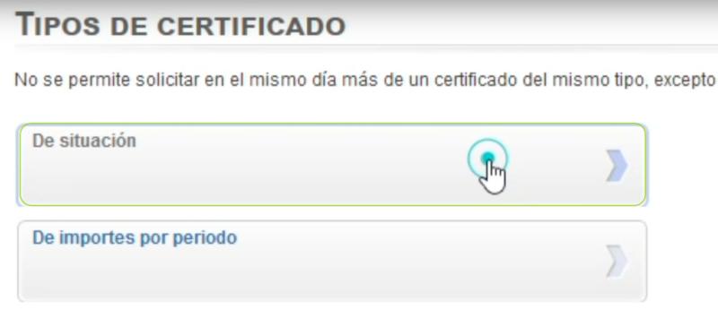 Certificado de situacion. sistema cl@ave Datos de contaste. Pasos solicitar certificado desempleo - EPAE